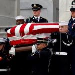Comienza el funeral de Estado de George H. W. Bush en Washington
