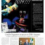 Edición impresa del 1 de enero del 2019