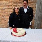 Celebraron 25 años de feliz matrimonio Hilda e Iván Irving