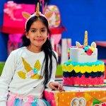Celebra su cumpleaños ocho la niña Elizabeth Nájera Coria