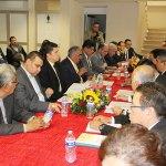  Rector escucha peticiones de sindicatos de la UJED en Gómez Palacio