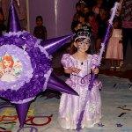 Diony Victoria celebró sus tres añitos