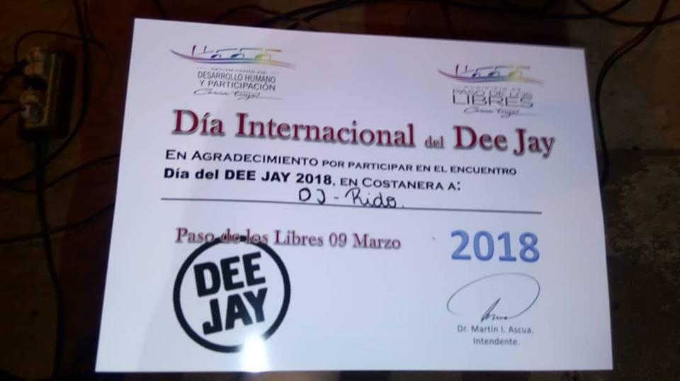 Dj Rido – Paso de los Libre – Corrientes