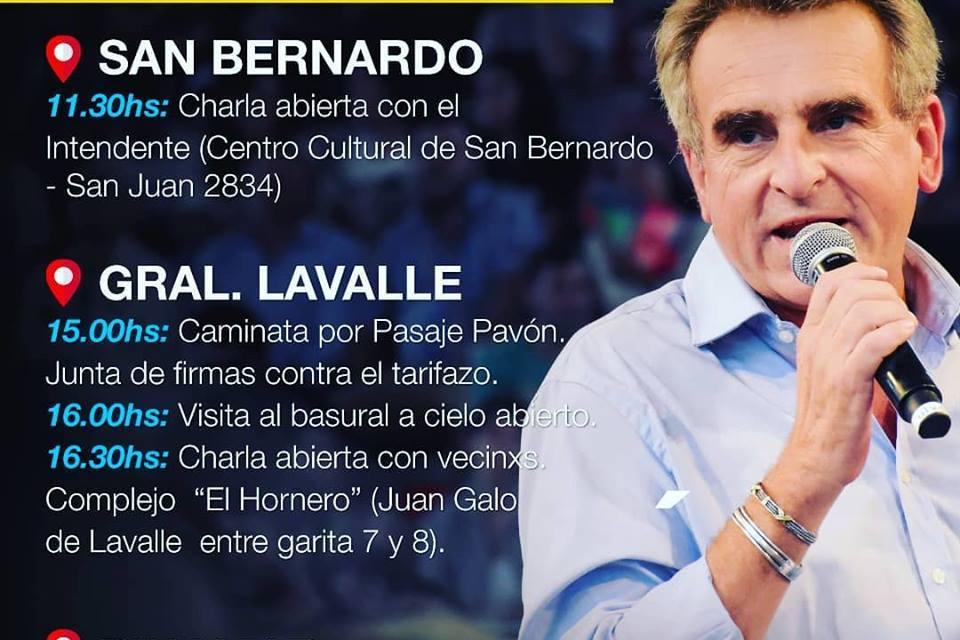 PROMOCIONANDO VISITA DE AGUSTIN ROSSI A GENERAL.LAVALLE…