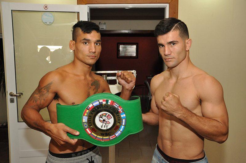 Pasó el pesaje y se viene el combate entre Jonathan Eniz y Fernando Daniel Calcino