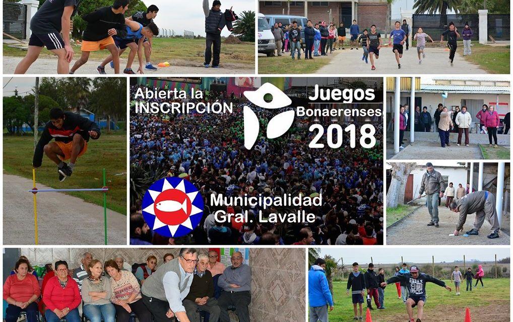 Juegos Bonaerenses 2018. Se lanzó la 27° edición de los Juegos Bonaerenses, la competencia deportiva y cultural más importan…