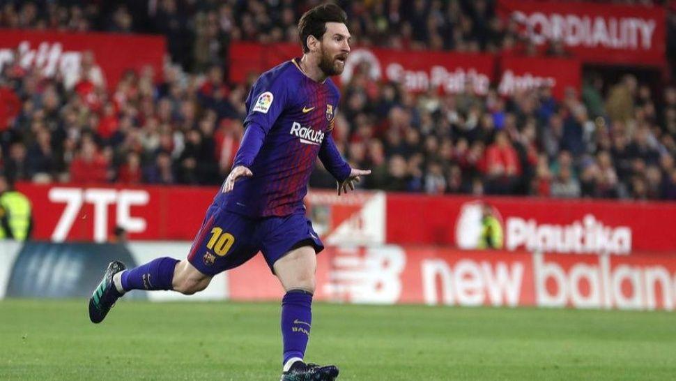 Messi entró y le salvó las papas al Barcelona