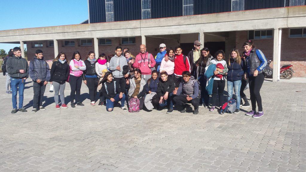 1ra Estudiantina Cultural y Deportiva en Gral Lavalle (esta la nota con el Profe encargado del evento)