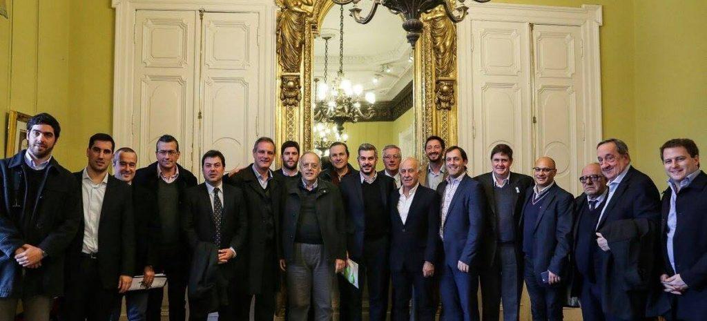 Marcos Peña recibió a intendentes de la Quinta sección electoral