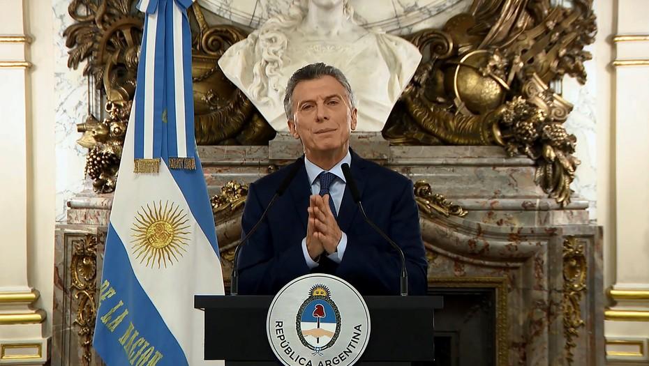 """Mauricio Macri reconoció la crisis y advirtió: """"Tiene que ser la última""""Discurso grabado"""
