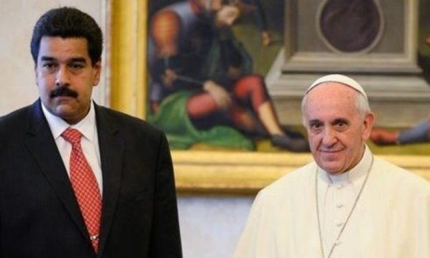 """Tensión eclesiástica  El Papa mandó un representante a la asunción de Nicolás Maduro, aunque la Iglesia venezolana dijo que es un presidente """"ilegítimo e inmoral"""""""