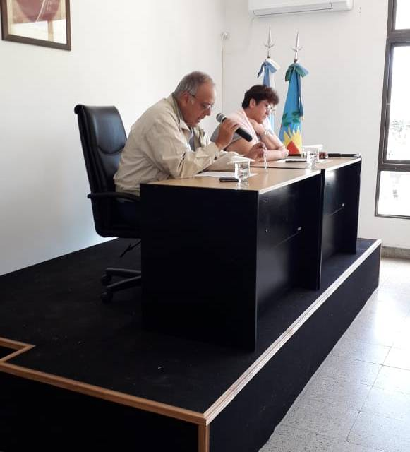 Se Inauguraron el periodo de Sesiones Ordinarias del HCD de GRAL.LAVALLE.-