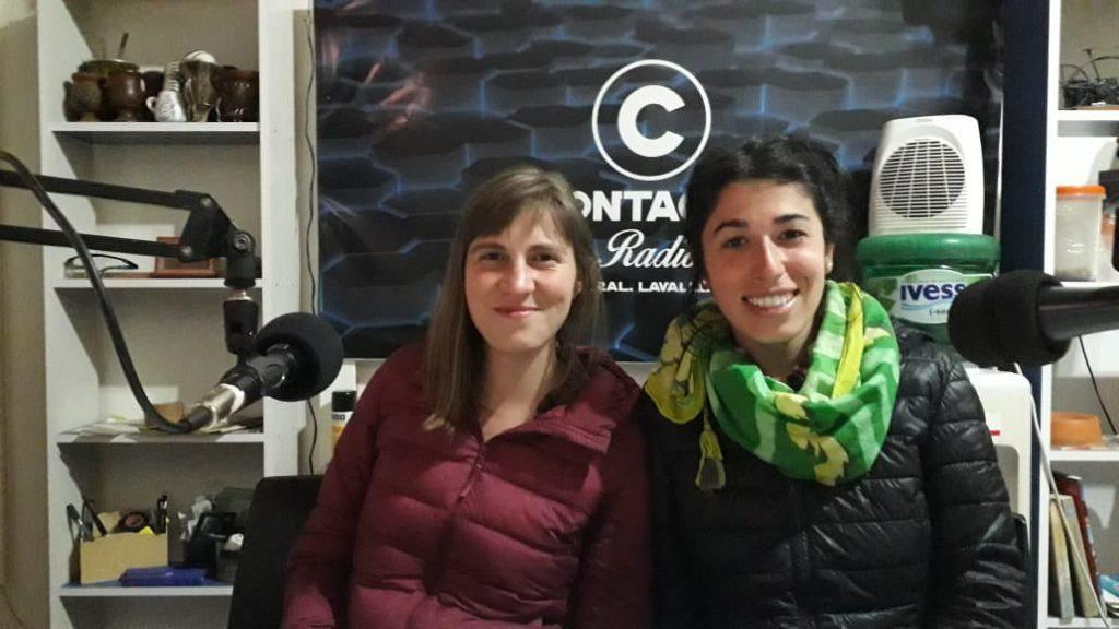 GRACIAS  -CAMILA Y ANA- POR VISITAR «TODO LAVALLE» PROYECTO GIGANTE DE LAS PAMPAS (ANFIBIO) – CONTACTO  RADIO 94.9