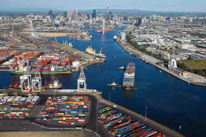 Consortium to acquire Port of Melbourne for US$7.3bn   Container Management