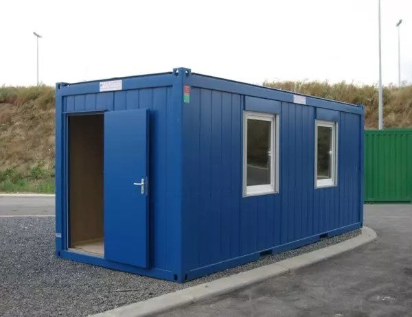 New 20ft X 8ft AV Office Container Cabins Ltd