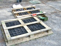 Innovative Alleviate Hunger With Pallet Gardening St