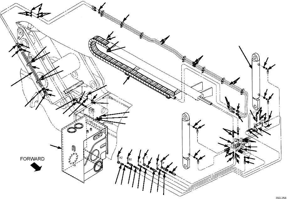 Figure 12. Tophandler Tilt Hydraulic System