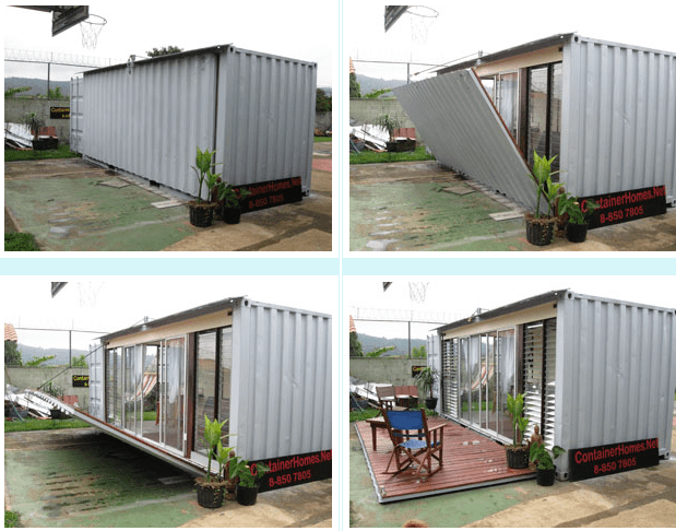 Studio Container Apartment  ContainerHomesNet