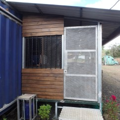Kitchen Sliding Shelves Open Metal Shelving 40ft Home For $23,400 | Containerhomes.net