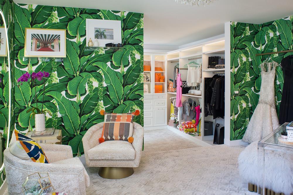 A Modernism Showhouse Custom Closet for Kelly Golightly