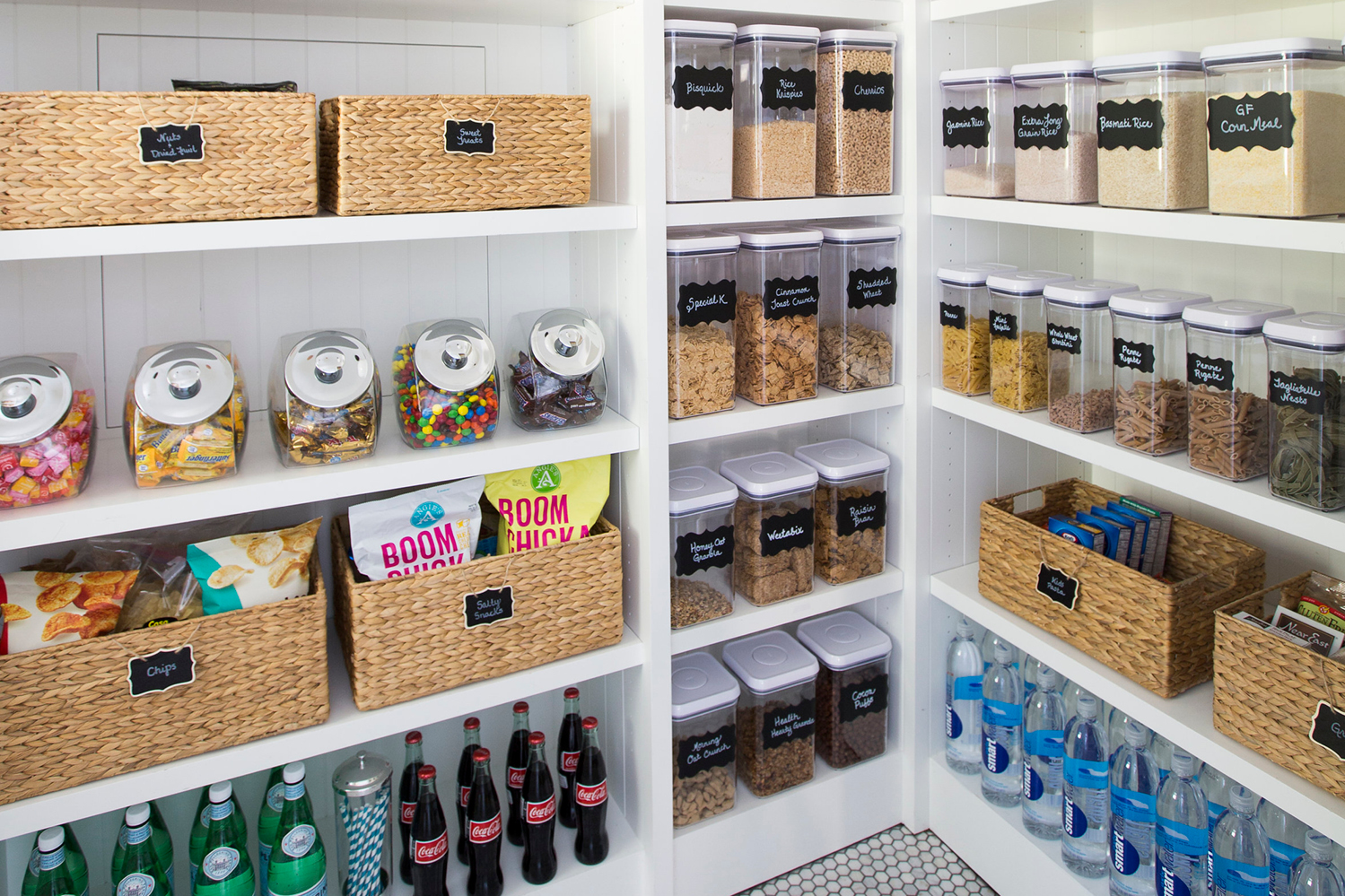 5 Steps to An Organized Pantry with Neat Method and The