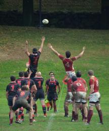 Men In Short Shorts Window Rugby Boston College