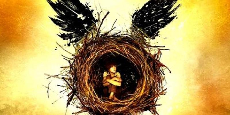 Capa do livro Harry Potter e a Criança Amaldiçoada, escrito por J. K. Rowling.