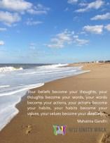 Gandhi-Beach Quote