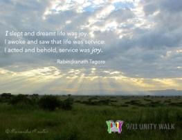 Rabindranath Quote-sunrise