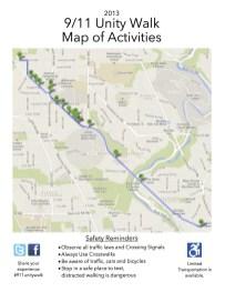 2013 Unity Walk Map:Details