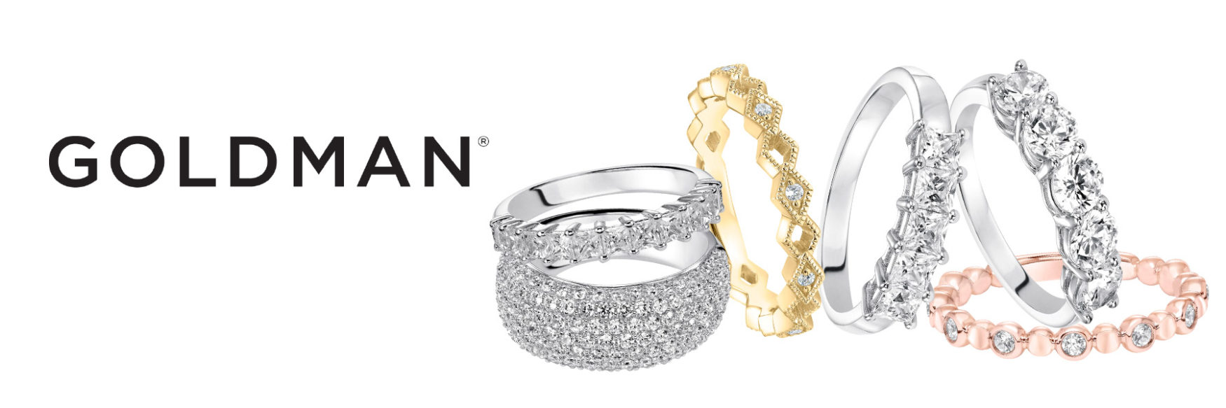 long island wedding rings - goldman - womens