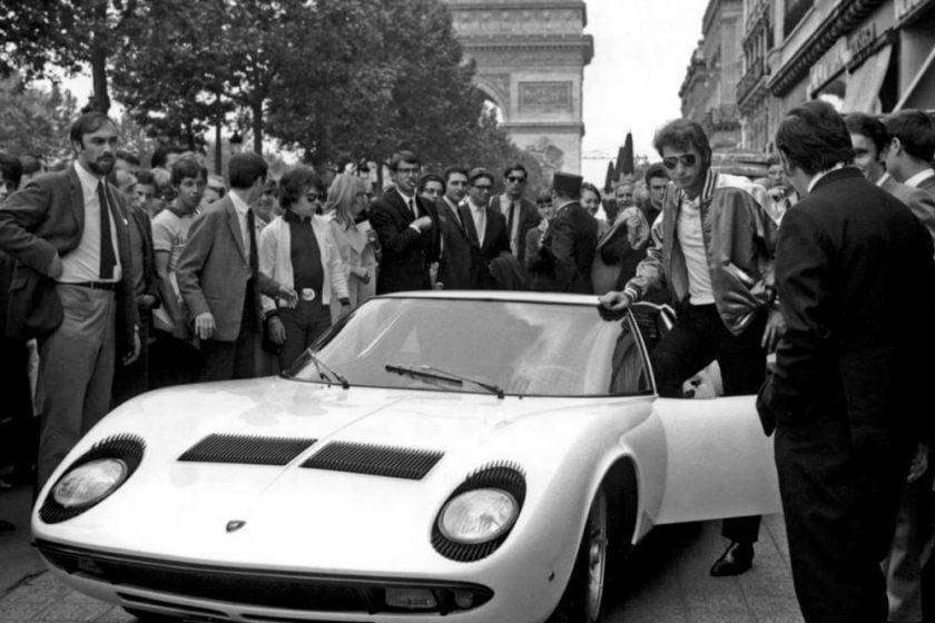 Lamborghini, invité de la Cité de l'Automobile, à Mulhouse
