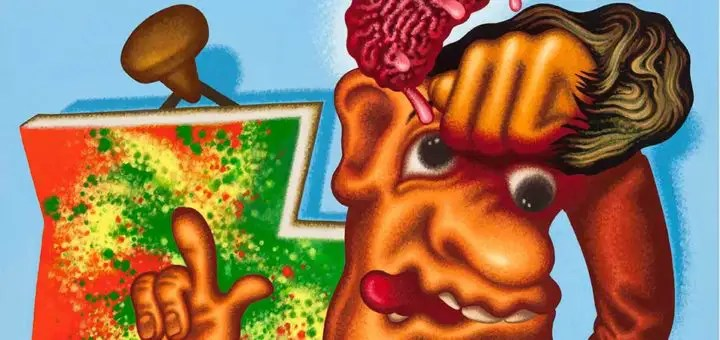 """Pop, Funk, Bad Painting and More"" Peter Saul"