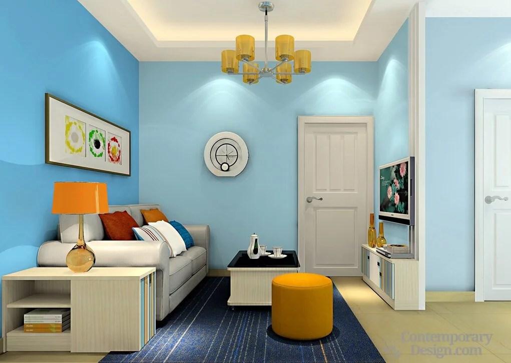 blue walls living room hgtv gray rooms
