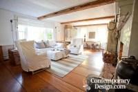 Farmhouse chic living room