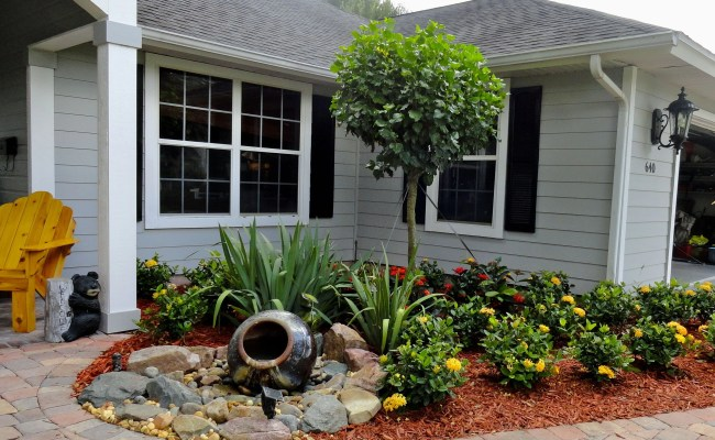 Landscaping Ideas For Small Front Yards Contemporary Design