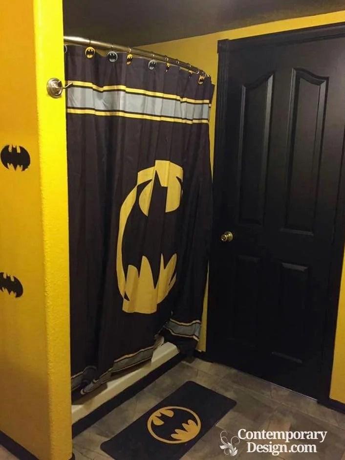 Batman bathroom decor