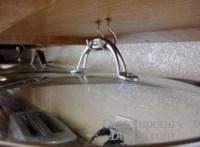 Under cabinet storage solutions