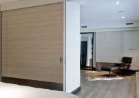 White Oak Large Sliding Doors New York, NY | Contemporary ...