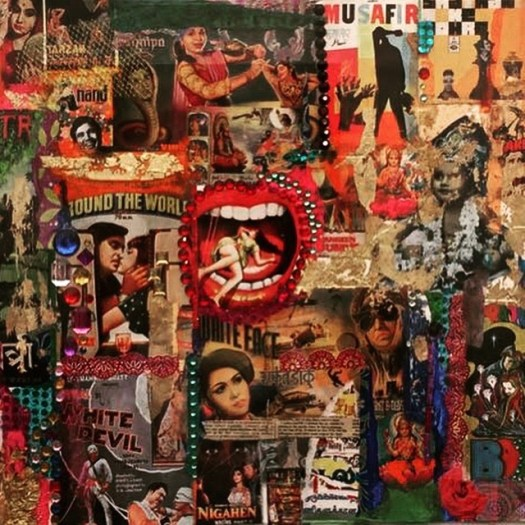 Collage art India
