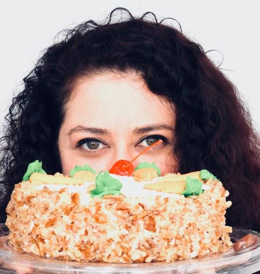 portrait artist cake