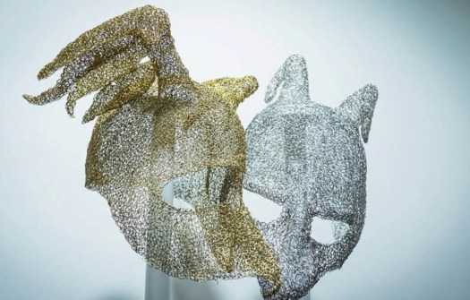 sculptures venetian masks artwork
