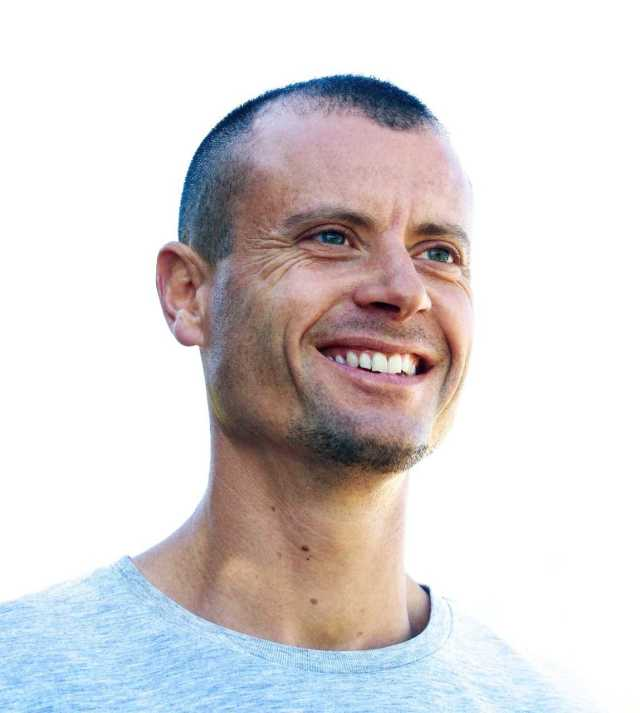 Portrait of artist Tim Christie