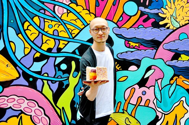 portrait of artist Simon McCheung featured in CAKE