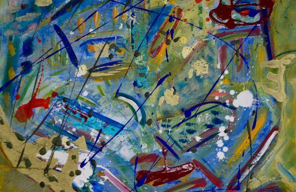 Horizon. Acrylic on Canvas