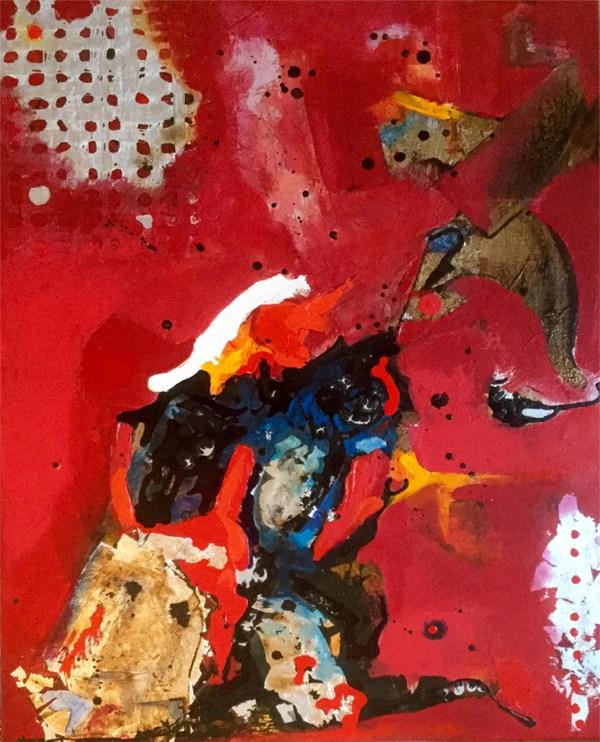 Series Delirio.Mixed Media on Canvas