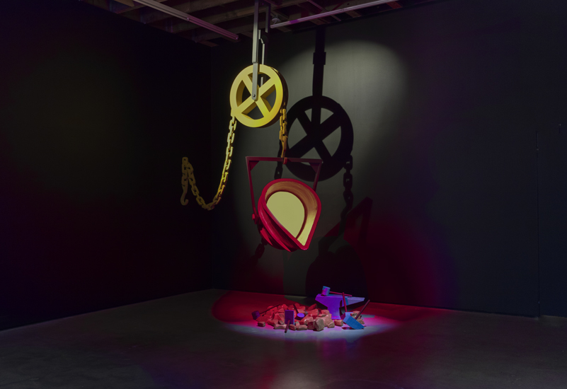 Ericka Beckman: Cinderella (installation view). Image courtesy of the artist and Cherry and Martin.
