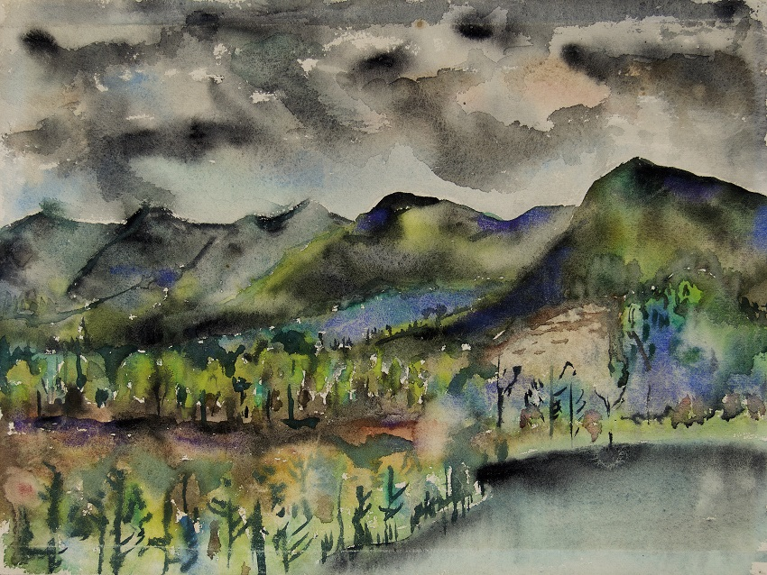 LBYL_Joseph Fiore_Black Mountain, Lake Eden