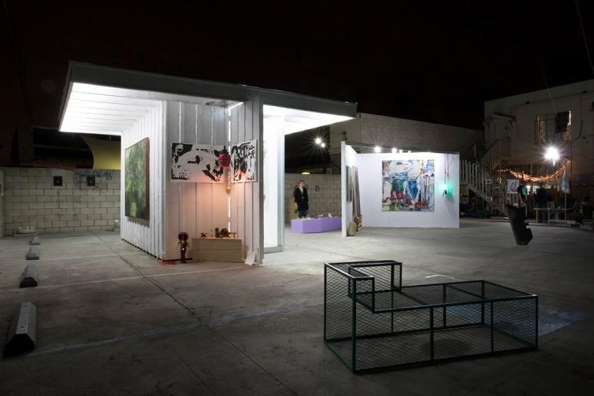Opening of ArtBandini (installation view), January 29, 2016. Courtesy of Arturo Bandini, Los Angeles.