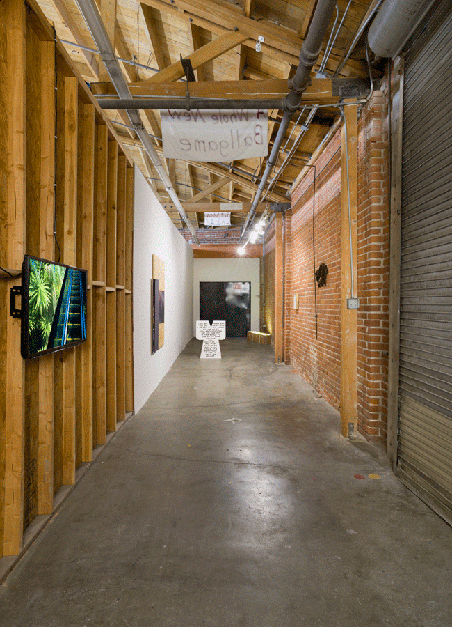 Walk Artisanal (installation view (2016). Image courtesy of the artists. Photo: Ruben Diaz.